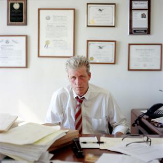 Portrait of Sam Gregory, Public Defender, Brooklyn, NY