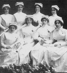 First Class of Graduate Nurses, St. Joseph's School of Nursing, Hamilton, Canada, 1915