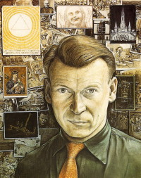 Autoportrait of William Kurelek, 1957